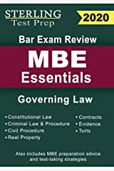 Sterling Test Prep Bar Exam Review MBE Essentials: Governing Law Outlines Paperback