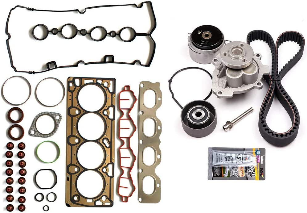 LSAILON Timing Belt Kits Replacement for 2009-2011 Chevrolet Aveo 2009-2011 Chevrolet Aveo5 2009-2010 Pontiac G3