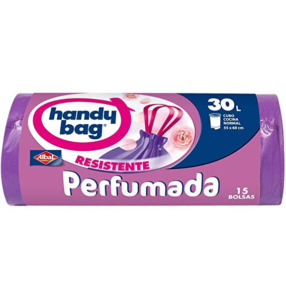 Handy Bag Bolsas de basura perfumadas, 30 l, perfume floral ...