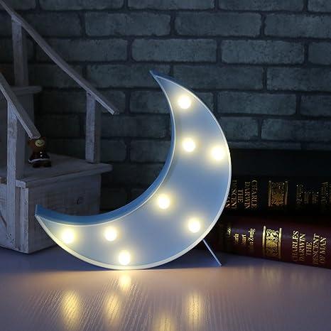 LED Luna Modelado Lámparas Luces nocturnas - Iluminación infantil nocturna Lámparas de pared, Lámparas Decoración