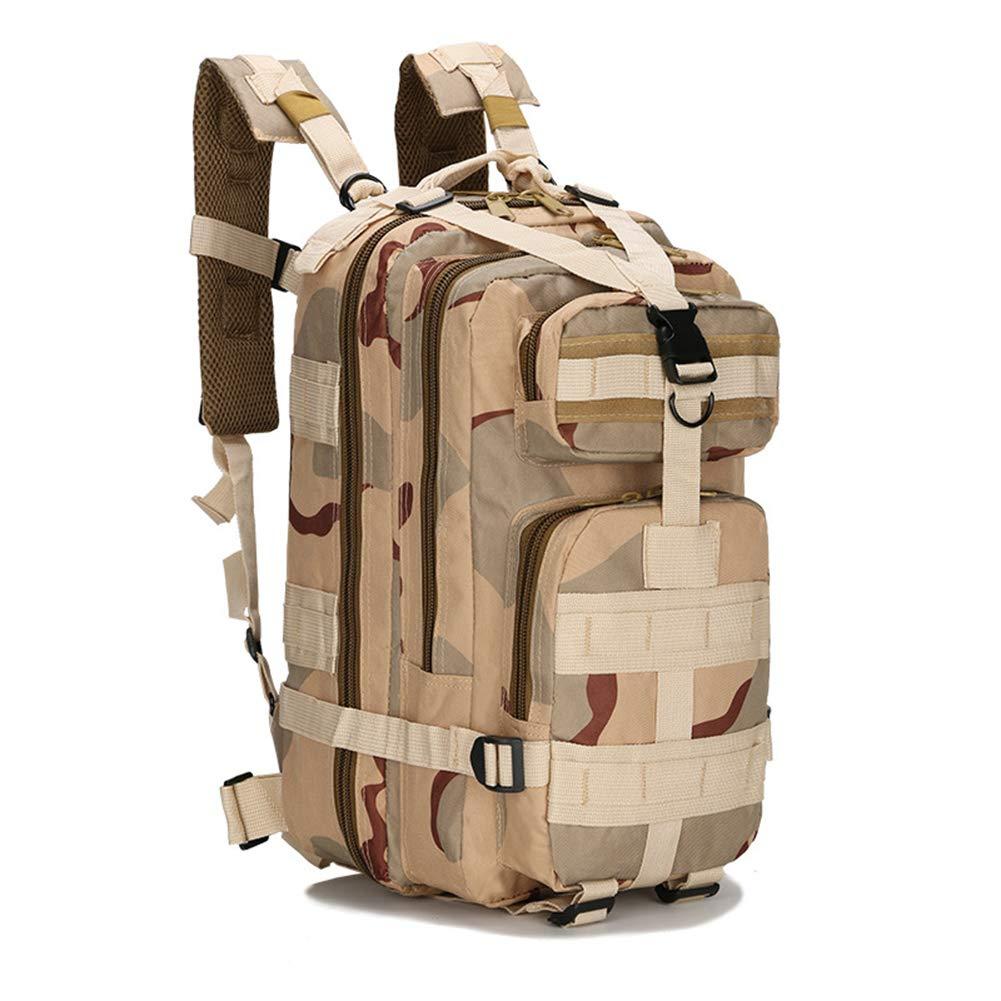 Borsa tattica del fan dell'esercito, borsa di alpinismo di sport all'aperto che fa un'escursione escursione di campeggio borsa del cammuffamento di caccia, alpinismo di campeggio esterno che cicla,Mud