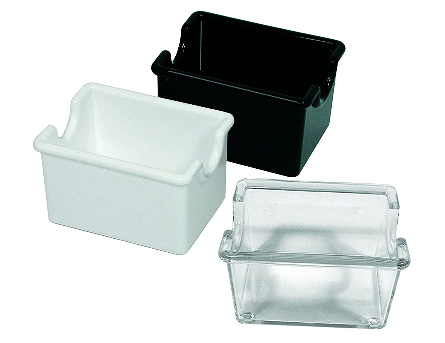 Update International SPH-WH Plastic Sugar Packet Holder, Clear