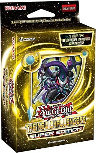 Yu-gi-oh! - New Challengers SE Special Super Edition TCG Cards Booster Mini-Box - 3 packs + 1 Super Rare Card