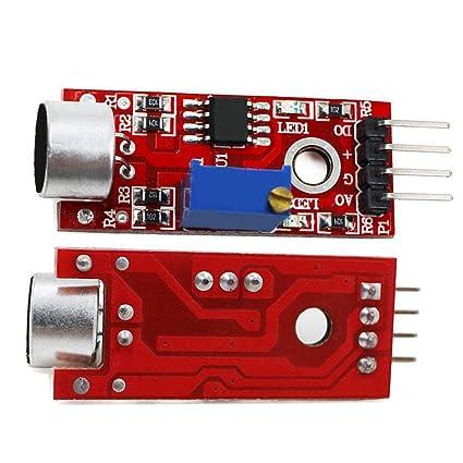 Amazon com : ETbotu 3pcs Microphone Sensor AVR PIC High