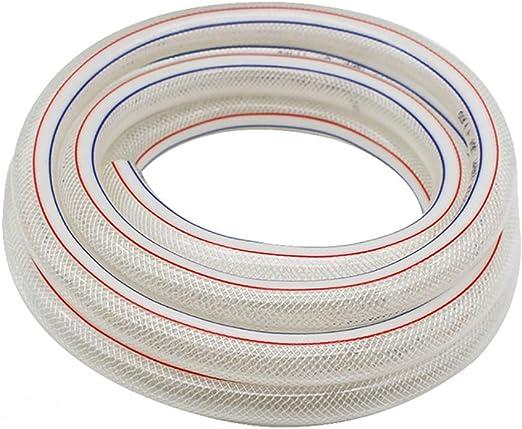 HYRGLIZI Manguera de jardín, diámetro Interno 12 mm, Espesor de Pared 2 mm PVC Manguera de