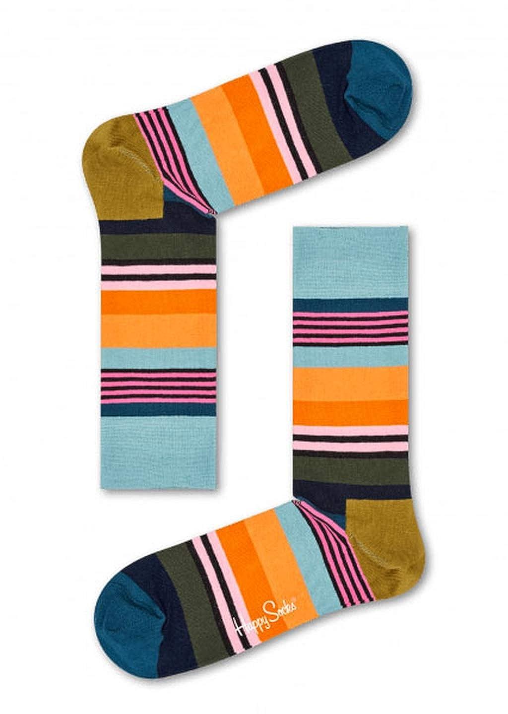 Happy Socks Calzini Collezione Moda Taglia 41-46 (41-46, 2000)