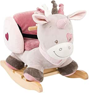 Nattou Jade The Unicorn Rocker, Multicolour