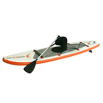 Blueborn Stand-up-paddle Board Pathfinder Z-Ray Sup - Bote inflable: Amazon.es: Deportes y aire libre