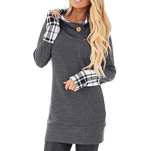 c46e3a6a48a Amazon.com  BOLUOYI Sweatshirt for Women with Pockets