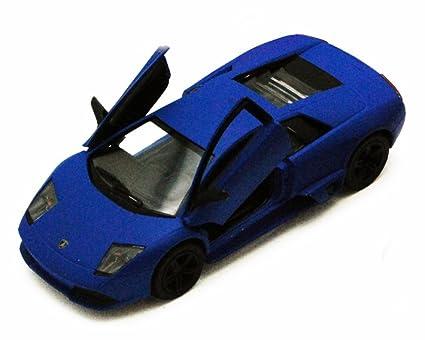 Amazon Com Kinsmart Lamborghini Murcielago Lp640 Blue 5370d 1 36