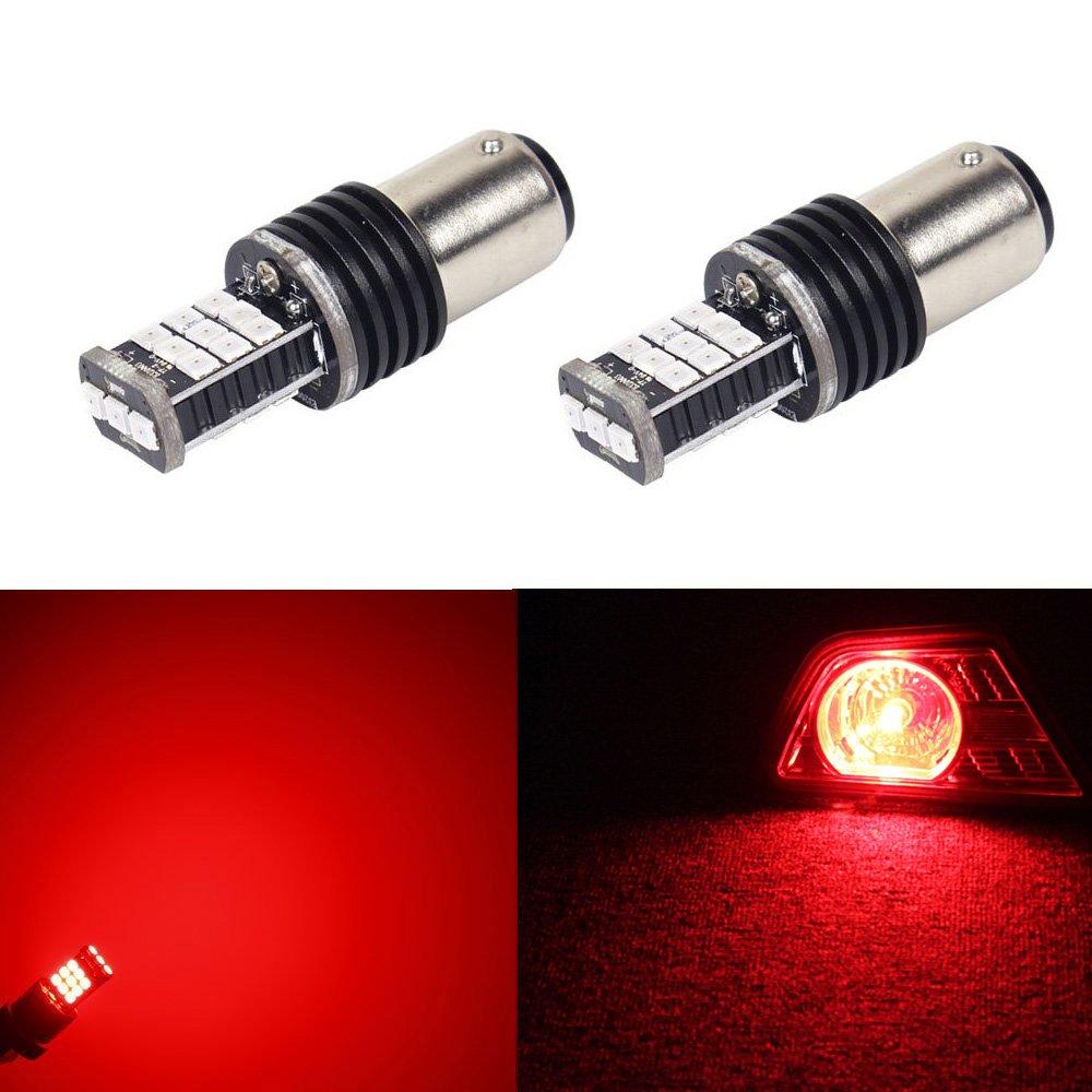 Amazon.com: JDM ASTAR 2G Super Bright 3035 Chipsets 1154 1157 2057 2357 7528 LED Lights ,Brilliant Red: Automotive