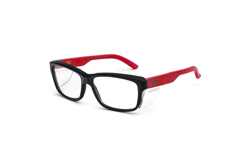 Pegaso 125.69.020 - Gafas contra impactó con lentes pre graduadas, Multicolor (Negro/Amarillo), +2.0, L