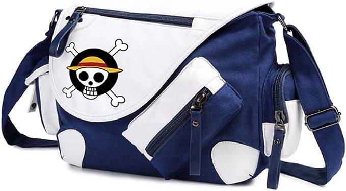 Gumstyle One Piece Anime Cosplay Handbag Messenger Bag Shoulder School Bags