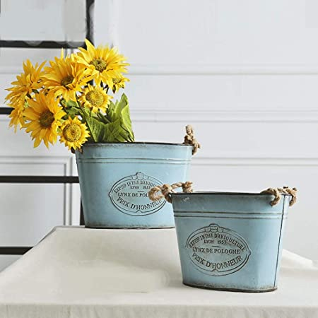Flower Vase Flowerpot Retro Beautiful Creative Decor Garden Planting