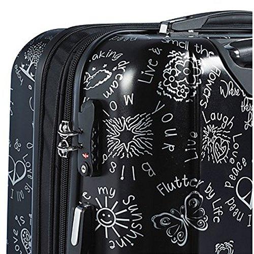 Mia Toro ITALY Love This Life-Medallions Hardside Spinner Luggage 3 Piece Set [20'', 24'' & 28''] by Mia Toro (Image #1)