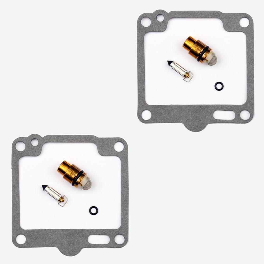 2x Kit Reparaci/ón Carburador Aguja del flotador Getor CAB-Y32