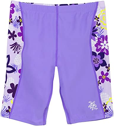 Nova Swimwear Girls Jeans Chlorine Resistant Swim Shorts
