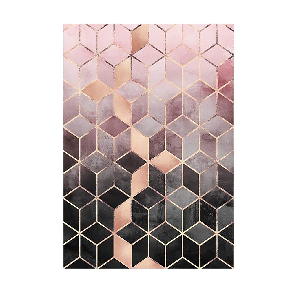 Amazon.com: YAOJP Area Rugs for Living Room Fashion Rose ...