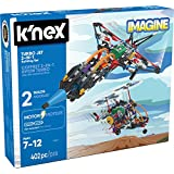 K'NEX – Turbo Jet – 2-in-1 Building Set – 402 Pieces – Ages 7+ – Engineering Educational Toy