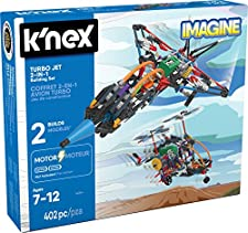 Knex Turbo Jet 2-in-1 Building Set