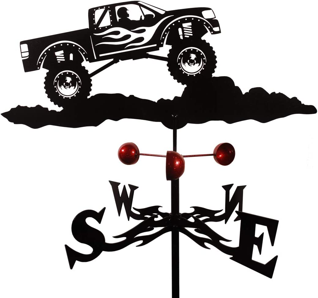 SWEN Products Farrell Series Ford Truck AUTO CAR Flat Post Mount Weathervane ~New~