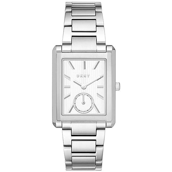 DKNY Reloj Analogico para Mujer de Cuarzo con Correa en Acero Inoxidable NY2623