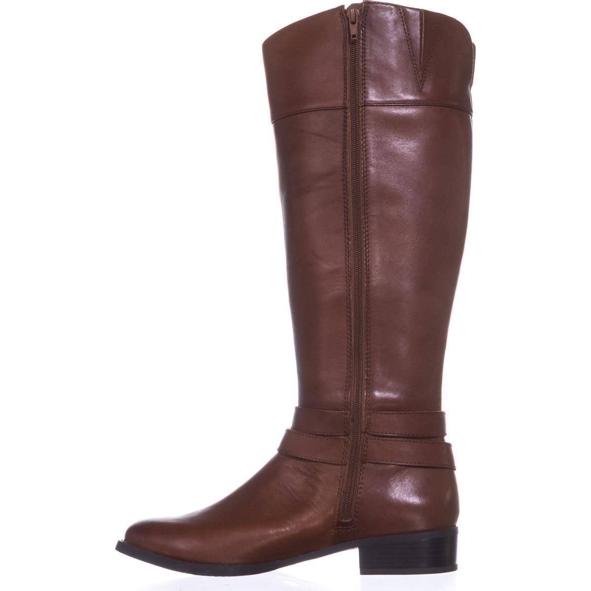 INC International International International Concepts Frauen Weite Wadenoeffnung Geschlossener Zeh Fashion Stiefel Braun Groesse 8 US  39 EU e93062
