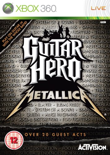 Guitar Hero: Metallica - Game Only (Xbox 360) by ACTIVISION (Best Guitar Hero Game)