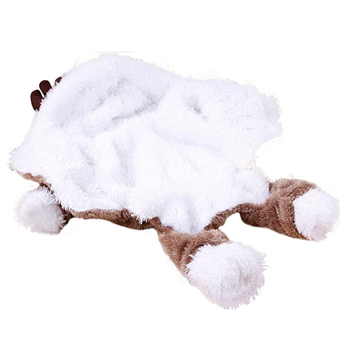 Amazon.com: Pet Clothes, Howstar Puppy Hoodie Coat Dog Warm Sweater Christmas Reindeer Costume Design Small Pets Apparels: Sports & Outdoors