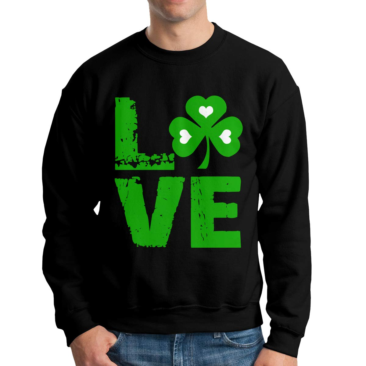I Love St Patrick S Day Adult S Fashion Sweater T Shirt