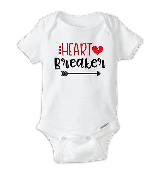 Amazon Com Juju Apparel Heart Breaker Baby Bodysuit Valentine S