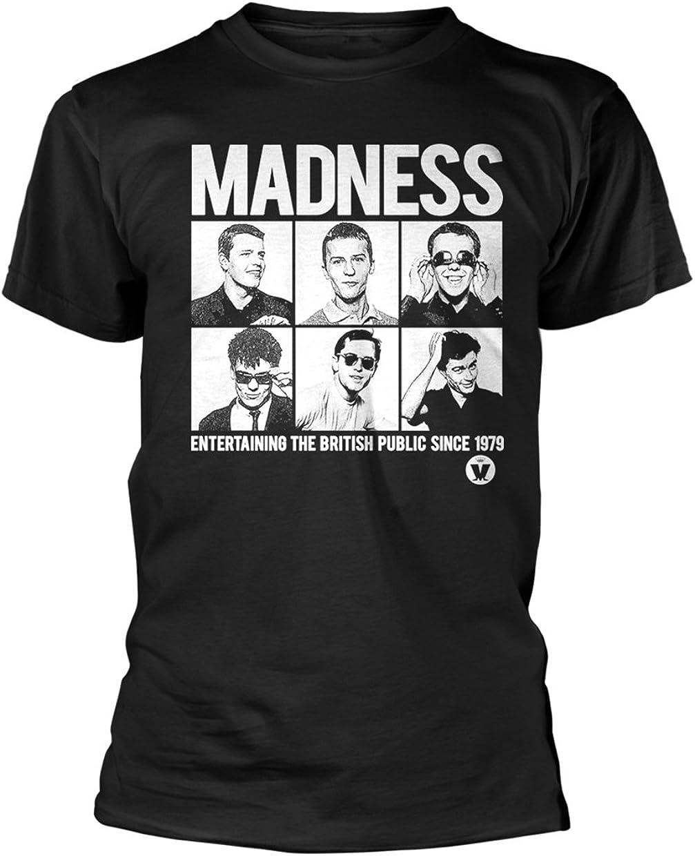 Madness Suggs Ska Punk Portraits oficial Camiseta para hombre ...