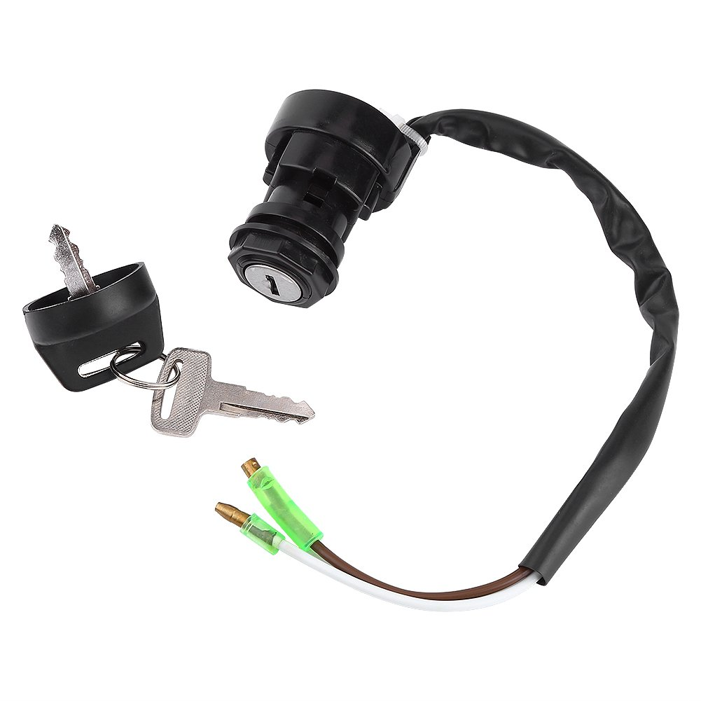 KIMISS Motorcycle Ignition Key Switch Assembly for Blaster YFS200 QUAD 98 99 2000-2006 ATV