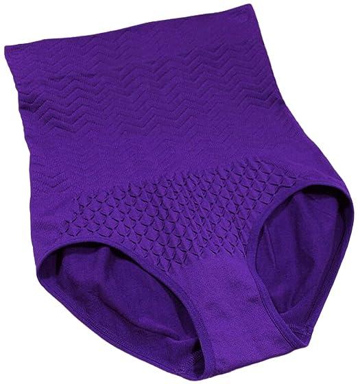10cf2be46225 La Vogue Bragas Postparto Recuperación Cintura Alta Color Sólido 4 Colores  para Mujer
