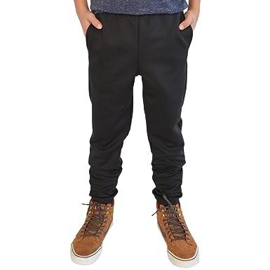 4768eba27 Amazon.com: Stretch Is Comfort Boy's Slim Fit Jogger Play Pant: Clothing