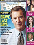 Peter Jennings, Eddie Murphy, Julia Roberts, Brad Pitt and Angelina Jolie - August 22, 2005 People Magazine