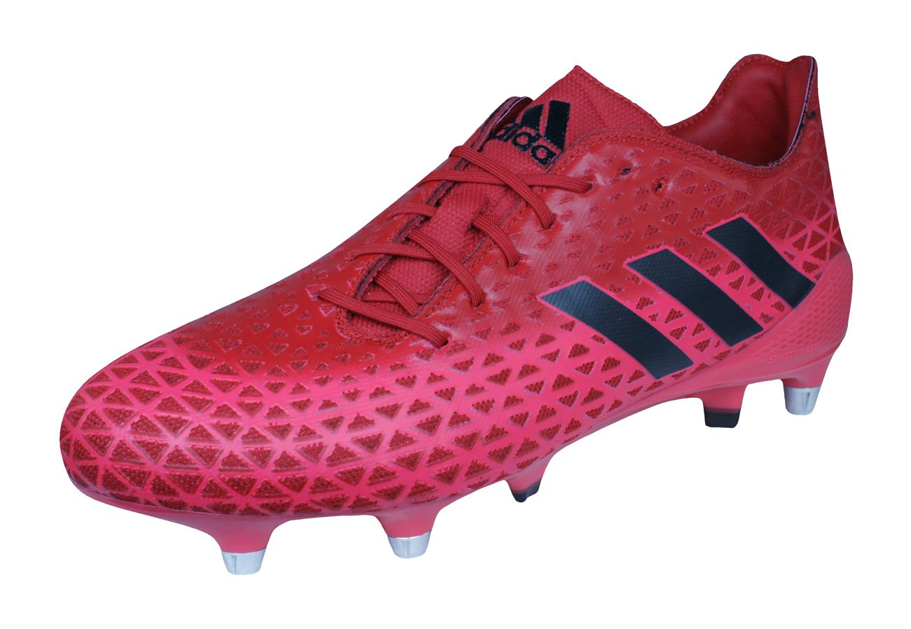 adidas Crazyquick Malice SG Rugby Boots - Red
