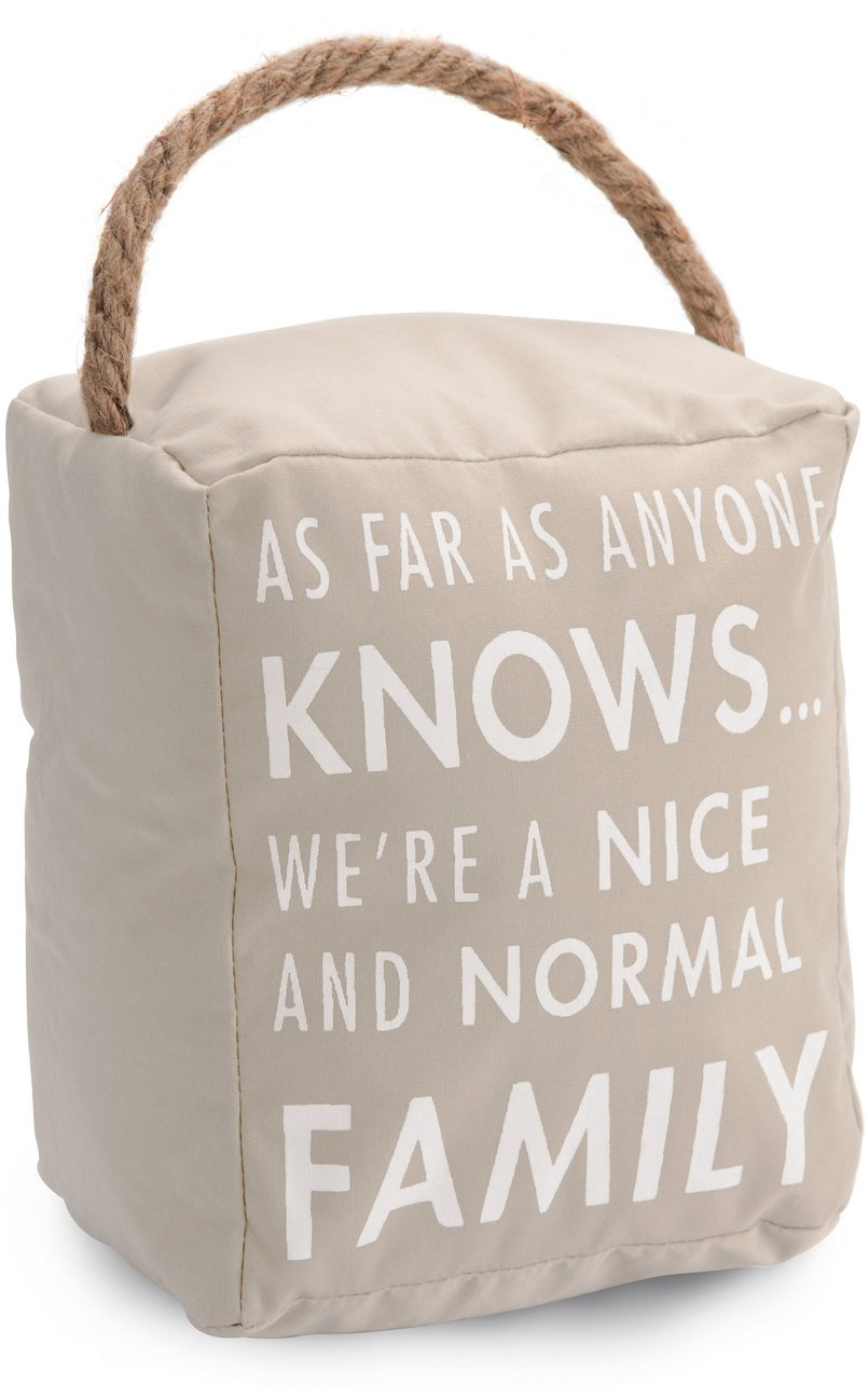 Pavilion Gift Company 72243 Normal Family Door Stopper