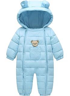 1a6db4c8a Amazon.com  Ohrwurm Infant Toddler s Onesie Down Jacket Baby Cute ...