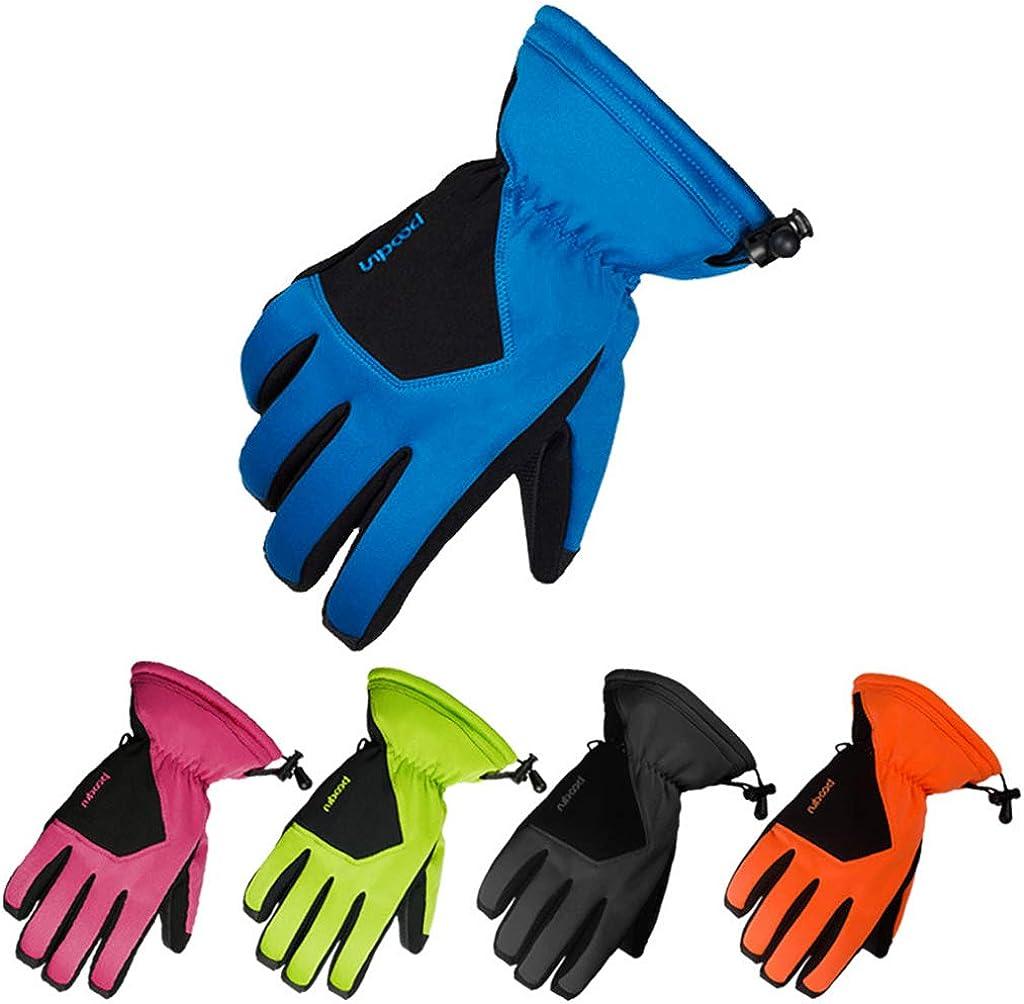 Waterproof Ski Gloves Warm Outdoor Anti-slip Winter Windproof Gloves Men Women