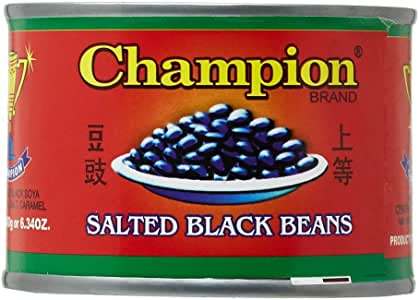 Champion Salted Black Beans - 180 gm