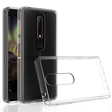 innovative design 35834 d7940 Nokia 6 2018 Case,Yiakeng Waterproof Wallet Slim Soft Glitter ...