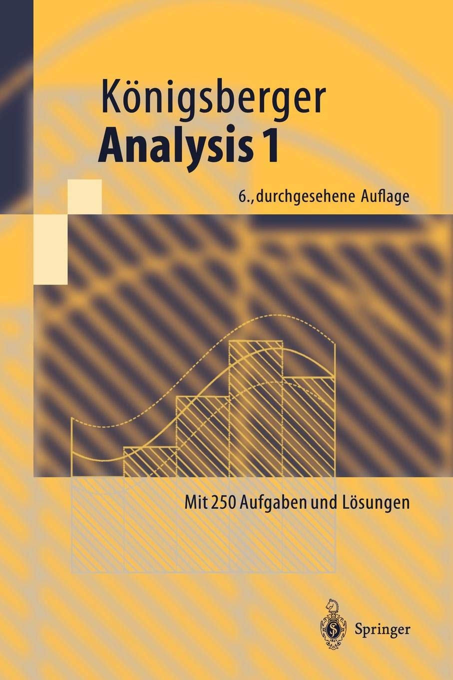 Analysis 1  Springer Lehrbuch