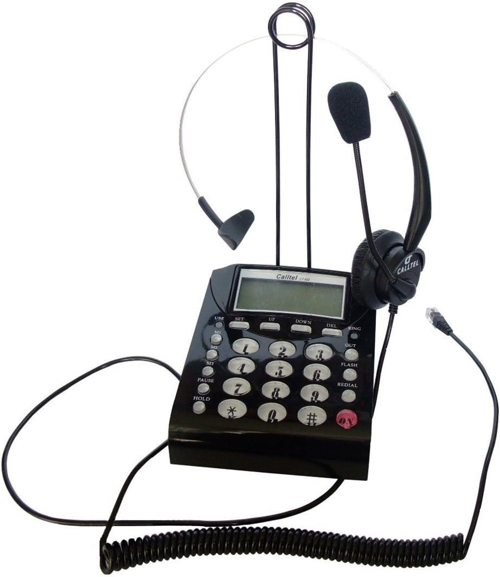 US T400 Headset Headphone For AVAYA Lucent 2410 2420 5410 5420 5610 5620 Black