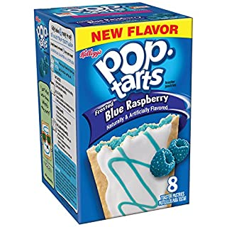 (Discontinued by Manufacturer)Pop-Tarts Toaster Pastries, Frosted Blue Raspberry, 8 Count