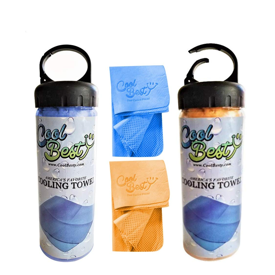 Cool Besty Cooling Towel-Workout/Tennis/Golf/Biking-Best for Any Sport Activities&Athletes Cold Towel-Chilly Pad Instant Cooling Snap Towel-Perfect for Fitness&Gym