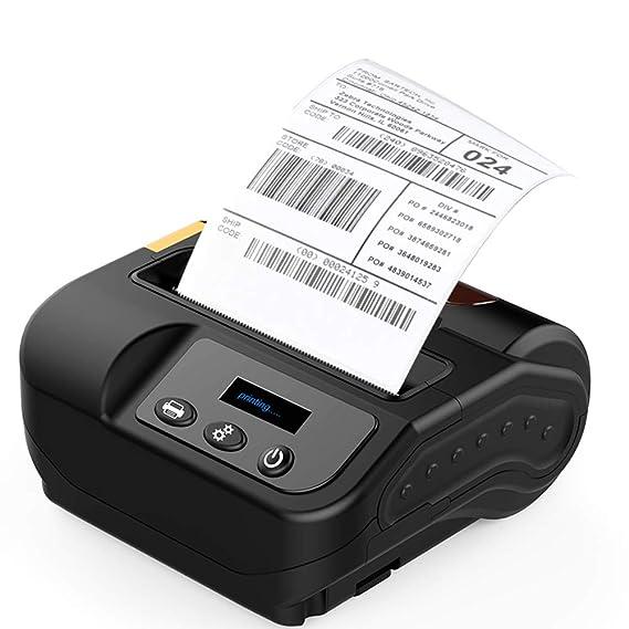 Pinkskattings@ 80mm USB Portatil Impresoras De Recibo con Batería ...