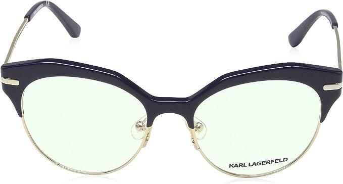Karl Lagerfeld Brillengestelle KL2600775117140 Rechteckig Brillengestelle 51 Blau