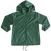 MAYDU Cycling Jacket Waterproof Men's Atrovirens Hooded Skin Coat Outdoor Nightrider Windbreaker Rain Coat