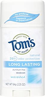 product image for Tom's of Maine Long-Lasting Care Deodorant Stick, Unscented - 2.25 oz - 2 pk
